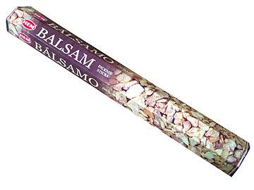 お香 バルサム香 スティック /HEM BALSAM/インセンス/インド香/アジアン雑貨(ポスト投函配送選択可能です/6箱毎に送料1通分が掛かります)