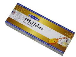 お香 <strong>メタリカ</strong>ドゥープ香/SATYA METTALICA DHOOP/インセンス/インド香/アジアン雑貨(ポスト投函配送選択可能です/6箱毎に送料1通分が掛かります)