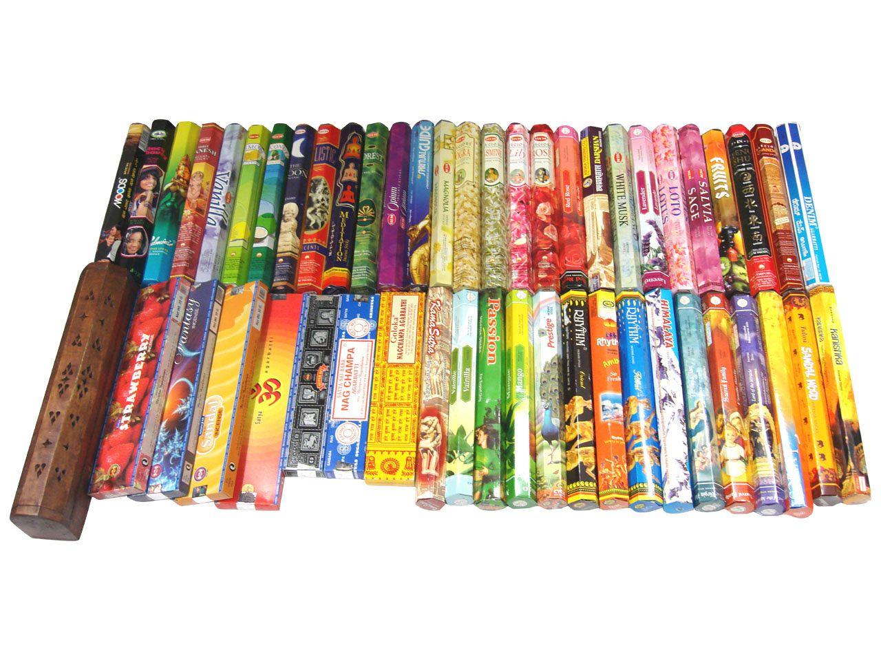 お香 本気のお香好きの為のヘキサボックス50箱&ボックス型お香たてセット 送料無料!...:happyhour:10000077