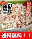 レビューを書いて【送料無料】国産 21世紀雑穀米(500g) 白米と一緒に炊くだけで栄養たっぷりのご