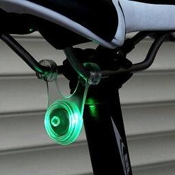 スポーク LED ライト <strong>自転車</strong> サイクル 用 ぶら下げ式 防水 シリコン テール ランプ 早 点滅 遅 点滅 点灯 の 3 パターン グリーン 緑 ブルー 青 レッド 赤 <strong>自転車</strong>スポークLEDライト 夜間も安全 事故防止 夜間走行