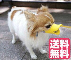 送料無料 口輪に見えないキュートな口輪 quack クァック Sサイズ イエロー 黄色 犬の口輪 噛みつき 吠え 犬用の口輪 愛犬用口輪 愛犬のしつけ トイプードル、チワワ、ポメラニアンなど やわらかいシリコン素材