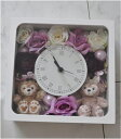 送料無料!お誕生日にいかが?ディズニーシー★ダッフィー&シェリーメイがついた時計。掛け時計としても、置時計としてもつかえます。プレゼントにおすすめ!アーティフィ...