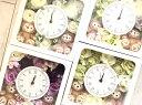 送料無料!お誕生日にいかが?ディズニーシー★ダッフィー&シェリーメイがついた時計。掛け時計としても、置時計としてもつかえます。プレゼントにおすすめ!アーティフィシャルフラワー☆お色セレクト 母の日 おまかせ
