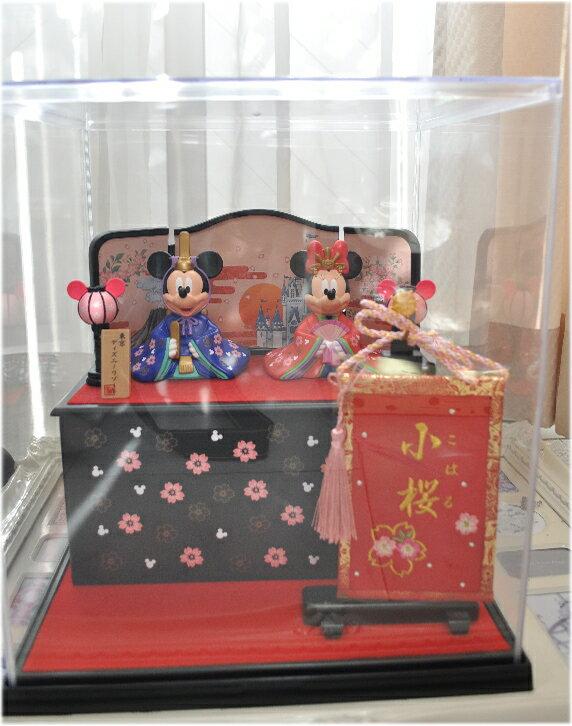 送料無料!雛人形☆ひなまつり☆ディズニーランド☆写真のひな人形にぴったりなケースとお名前旗…...:happytyuku:10004585