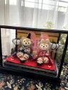 【送料無料】【雛人形】【おしゃれ】【コンパクト】☆☆雛人形☆ひなまつり☆ダッフィ