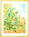絵画 インテリア♪「grow」■ポエム付・Mサイズ■おしゃれな絵画 玄関に飾る絵 玄関絵 グリーン