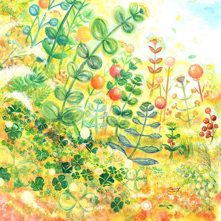 プレゼント 絵画アート「grow」■mini・...の紹介画像3