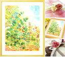 開店祝い プレゼント 絵画アート「grow」■名前入れ可・Mサイズ ポエム付■喜ばれる 開業祝い 開