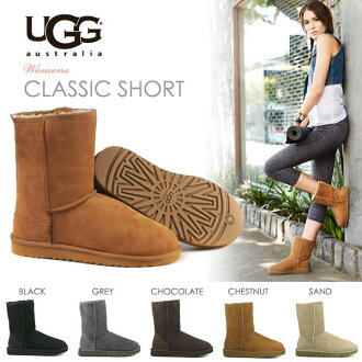 UGG (UGG) boots short boots classic short genuine moccasin BOA mokomoko pettanko pettanko boots fall/winter sand chestnut chocolate black grey cheap sale sale outlet price shoe store popularity rankings 2013