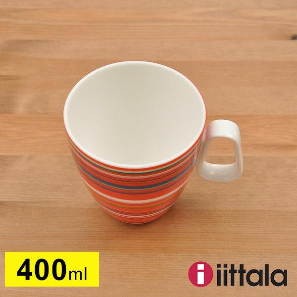 イッタラ オリゴ 400ml マグカップ レッド iittala Origoの写真