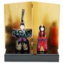 雛人形 ひな人形 おしゃれ 立雛 立ち雛 親王飾り 漆器の雛人形 人形工房天祥オリジナル伝統工芸品 人形工房天祥 限定オリジナル 漆器のひな人形
