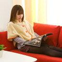 着る毛布(大人用 ベストタイプ)ケープ あったかルームウェア【ミニマイニモ minimynimo】【レディース】