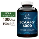 BCAA+G 6000 アルティメットリカバリフォーミュラ 150カプセル MRM(エムアールエム)筋肉/プロテイン/回復/アミノ酸