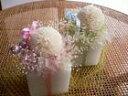 どうぞ安らかに。まんまるマム(菊)のプリザーブドが、その思いを伝えます。お供え用プリザーブドフラワー「アロママム」/ピンク