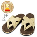 LIFE IS .... THE SANDALMAN Smarchee Thong Sandal ライフイズ 別注 サン...
