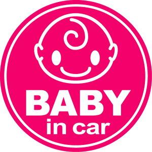 マグネット ステッカー ベビーインカー 赤ちゃん キャラクター