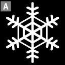 【車やバイク、小物にもピッタリ!】1枚ずつ買える!雪の結晶ミニステッカー【選べるカラー5種類】クリスマスステッカー/傷隠し/防水/転写/スノーボードステッカー/ステッカースノーボード/アウトドア/屋外/人気/スキー おしゃれ かわいい シール 楽天 通販
