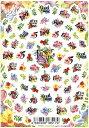 メール便送料無料 Sha-Nail Pro 写ネイル FVB-001 Flower Vibes フラワーバイブス 花 ネイルシール