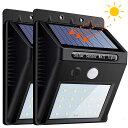 新品 LED ソーラーライト 人感センサーライト自動点灯 太陽光発電 屋外照明 玄関 廊下 駐車場 大活躍 防水 防犯ライト 取付簡単