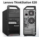 中古ワークステーション レノボ Lenovo ThinkStation E20 4222-28J 2.93GHz Core i3 メモリー 4GB 新品SSD 128GB Windows10 Office DVD Workstation PC 中古パソコン
