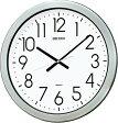 SEIKO CLOCK (セイコー クロック) 掛時計/掛け時計 オフィスタイプ クオーツ 防湿・防塵型 金属枠 KH407S