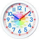 SEIKO CLOCK (セイコー クロック) 知育掛時計/掛け時計(白) KX617W