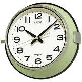 【予約品】SEIKO セイコー 船舶 掛け時計 【KS474M】 バス時計 防塵タイプ
