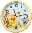 SEIKO CLOCK (セイコー クロック) キャラクタークロック ディズニータイム くまのプーさん 掛け時計 FW570Y