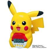 SEIKO CLOCK (セイコー クロック) キャラクタークロック ポケモン ピカチュウ 立体おしゃべり目覚まし時計 JF373A