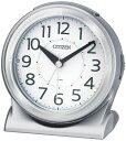 CITIZEN(シチズン) めざまし時計 自動点灯ライト付 サイレントミグR645 8RE645-019
