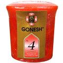 ショッピングアロマ GONESH ガーネッシュ ボーティブ キャンドル 芳香剤 NO.4