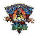 ショッピングバイク ★メール便送料無料★ グレイトフルデッド ブランド ステッカー / GRATEFUL DEAD グレイトフルデッド 車 バイク シール