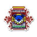 ★メール便送料無料★ サイケデリック ジャム ステッカー / GRATEFUL DEAD グレイトフルデッド デッドベア 車 バイク シール