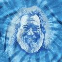 ショッピングカットソー 【ジェリーTシャツ】ジェリー ブルー スパイラル タイダイ Tシャツ/グレイトフルデッド/オフィシャル/ライブ/フェス/アウトドア/レア希少/JERRY BLUE SPIRAL TIE-DYE T-SHIRTS【GRATEFUL DEAD】【PRINT TEE】【TOPS】