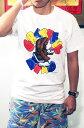 ショッピングプリント 【OLD PRINT TEE】グレイトフルデッド モンキー スカル Tシャツ・全1色/ オフィシャル / ヴィンテージプリント復刻Tシャツ / GD MONKEY SKUL T-SHIRTS WHITE【GRATEFUL DEAD】【TOPS】