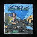 ショッピングPT シェイクダウン ストリート Tシャツ ブラック / GRATEFUL DEAD / グレイトフルデッド オフィシャル バンドT ロック フェス ライブ アウトドア プリントTシャツ / SHAKEDOWN STREET LP T-SHIRTS PEA BLACK