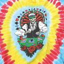 ショッピングランプ 【TIE-DYE TEE】グレイトフルデッド ディーラー タイダイ Tシャツ/オフィシャル/ロック バンドT フェス アウトドア【トランプ カジノ トップス 半袖 レッド・イエロー・ブルー系のタイダイ】DEALER GD TD T【GATEFUL DEAD】【TOPS】【NF157AA】