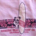 ショッピングストライプ ハイビスカス ストライプ ピンク Tシャツ GRATEFUL DEAD/グレイトフルデッド/デッドべア/オフィシャル