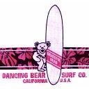 ショッピングファー 【SURF BEARS】グレイトフルデッド ハイビスカス ストライプTシャツ・ホワイト ピンク/オフィシャル【デッドベアー サーフ サーファー サーフィン ロックT バンドT】HIBISCUS STRIPE T-SHIRTS WHITE/PINK【GRATEFUL DEAD】【TOPS】【SS83WPK】
