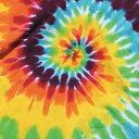 ショッピングレイン レインボー スパイラル タイダイ Tシャツ/その他/フェス/アウトドア/RAINOW SPIRAL TIE-DYE T-SHIRTS