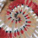 ショッピングターコイズ スパイラル タイダイ Tシャツ 4タイプ/その他/フェス/アウトドア/CANYON RED/SAGE/INDIAN GOLD/TURQUOISE/S.WESTERN SPIRAL TIE-DYE T 4TYPE