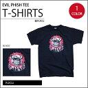 ショッピングプリント 【PRINT TEE】イーヴィル フィッシュ Tシャツ・全1色 / フィッシュ オフィシャル / 半袖 プリントTシャツ バンドT / EVIL PHISH ON BLACK T-SHIRTS【PHISH】【TOPS】