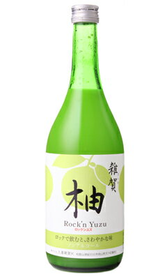 雑賀 ノンアルコール柚 Rock'n Yuzu 720ml