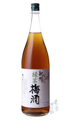 緑茶梅酒 / 中野BC 1800mlの商品画像