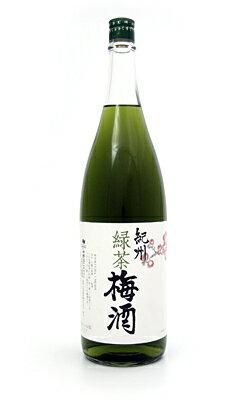 緑茶梅酒 1800mlの商品画像