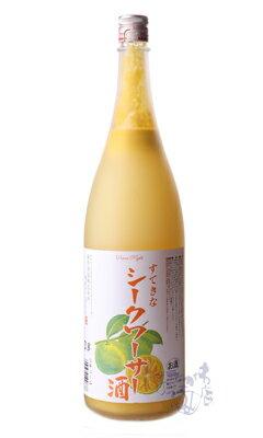 すてきなシークワーサー酒 / 麻原酒造 1800ml