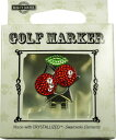 スワロフスキー付ゴルフマーカー(BG-7)Golf Marker with Swarovski