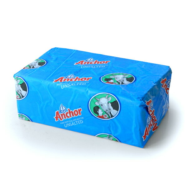 期間限定価格でご提供中!【冷凍】ニュージーランド産アンカー・グラスフェッド 無塩バター5kg