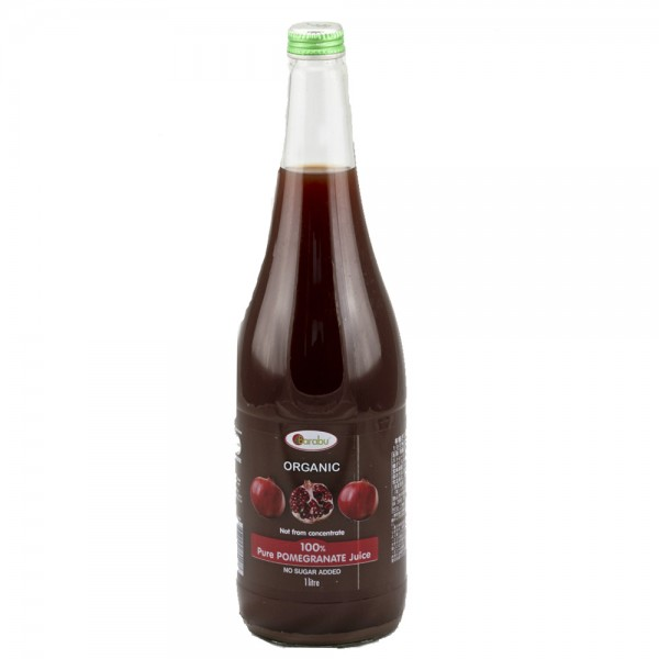 Barabu 有機ザクロジュース (Organic Pomegranate Juice) 100% 1L
